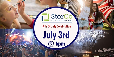 StorCo 4th of July Celebration tickets