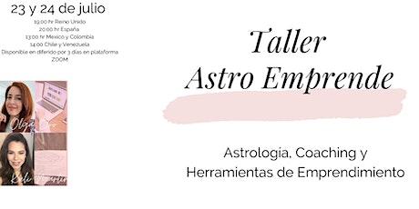 Astro Emprende : Astrología, coaching y  diseño de emprendimiento tickets