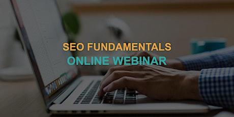 SEO Fundamentals: Online Webinar tickets