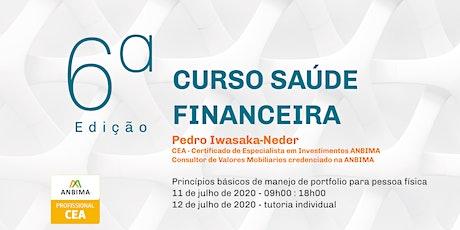 Curso Saúde Financeira - Online (´6a ed) ingressos