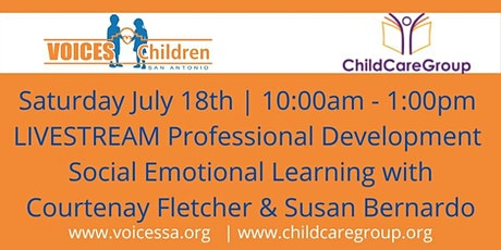 Social Emotional Learning with Courtenay Fletcher and Susan Bernardo tickets