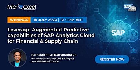 [Webinar] SAP Analytics Cloud tickets