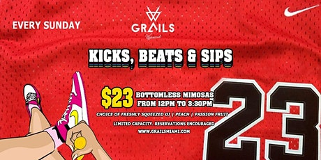 Grails Miami Presents Kicks, Beats & Sips tickets