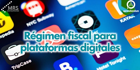 Régimen fiscal a plataformas digitales tickets