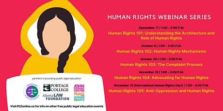 Human Rights 102: Human Rights Mechanisms tickets