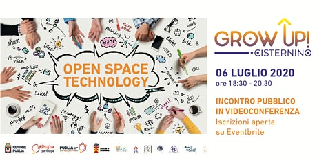 GROW UP Cisternino - Open Space Technology biglietti