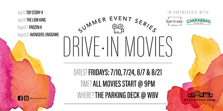 Drive-In Movies tickets