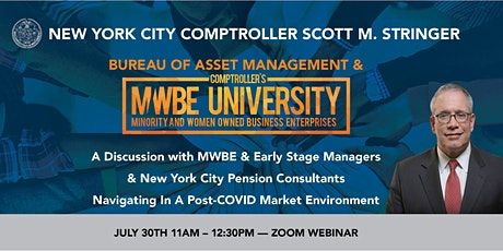 A discussion with MWBE/Early-Stage Managers & NYC Pension Managers tickets