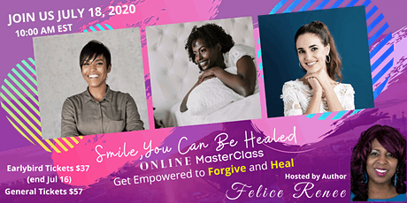 SMILE, You Can Be Healed Master Class tickets