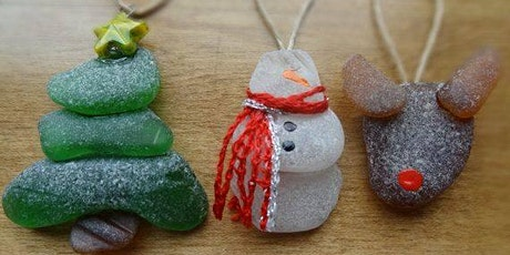 Christmas in July Seaglass hunt and make a seaglass ornament. tickets