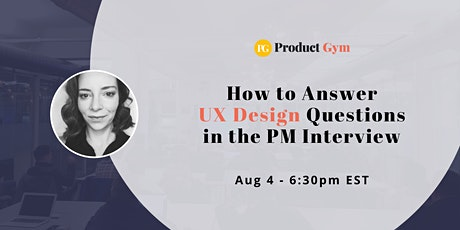 How to Answer UX Design Questions in the PM Interview tickets