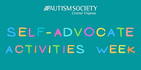 ASCV Self-Advocate Virtual Activities Week tickets