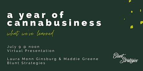 Cannabusiness Strategy Series | What We've Learned tickets