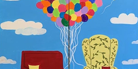 Disney's UP Couples Paint Night tickets