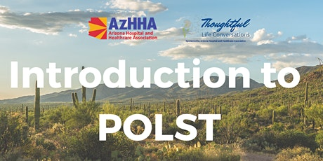 Introduction to POLST  (November, 2020) tickets