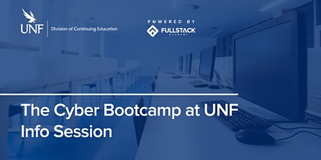 Online Info Session | The Cyber Bootcamp at UNF tickets