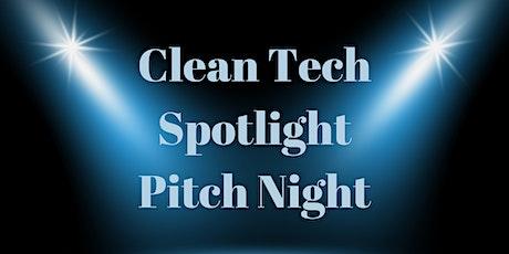 Clean Tech Spotlight Pitch Night tickets
