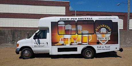 Kalamazoo Brew Bus Pub Support Crawl tickets
