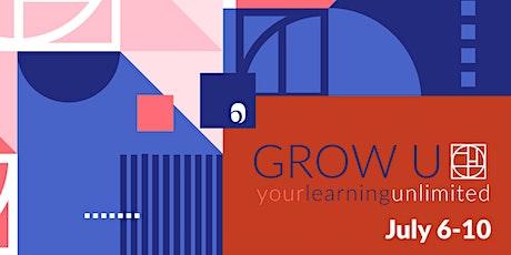 Grow-U Online starting July 6 tickets
