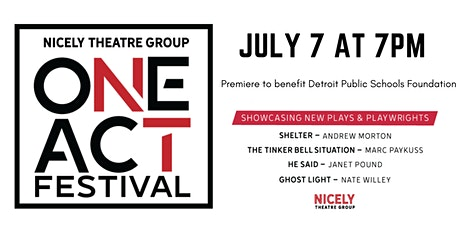 Nicely Theatre Group Online One-Act Festival tickets