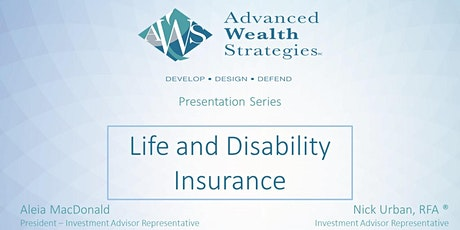 AWS Presentation Series: Life and Disability Insurance tickets