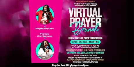 Virtual Prayer Brunch Upon First Sight Anointing tickets