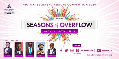 Victory Believers Virtual Convention 2020 - SEASONS OF OVERFLOW (#VBC2020) tickets