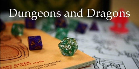 Virtual Tween/Teen Dungeons and Dragons tickets