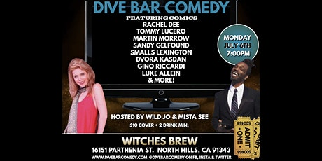 Dive Bar Comedy at Witches Brew tickets
