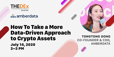 How to Take a More Data-Driven Approach to Crypto Assets tickets