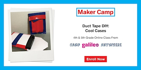 Duct Tape DIY: Cool Cases Class (4th & 5th Graders) entradas