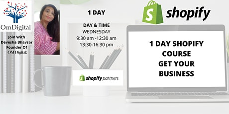 Learn How To Build  Website (Shopify )  Store! Get Your Business Online tickets