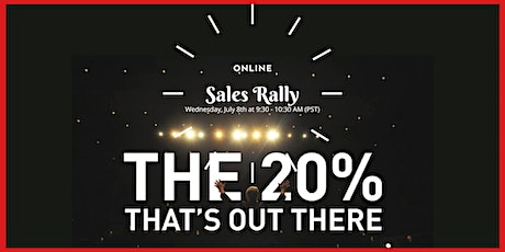 Online SALES RALLY, FREE tickets
