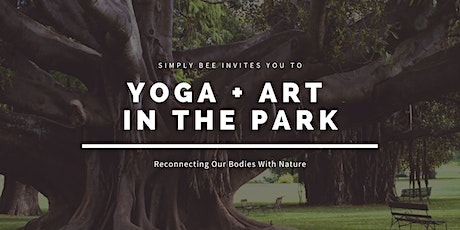 Yoga + Art In The Park (Ages 13+) tickets