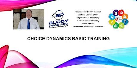 Choice Dynamics Basic Training tickets