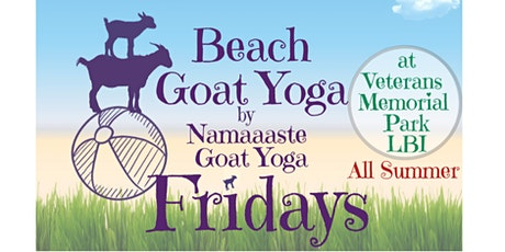 Beach Baby Goat Yoga LBI: Namaaaste Goat Yoga tickets