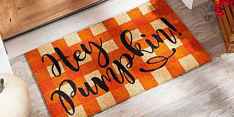 Bushel and Peck presents: First Day of Fall Themed Doormat tickets
