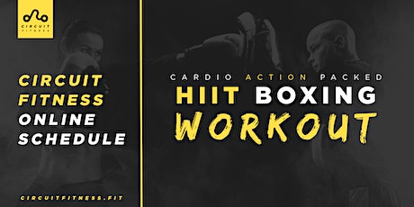 Free Cardio Action Packed HiiT Boxing Workout Online - No Equipment Needed tickets