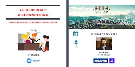 VOCAP Themareeks Leiderschap & Verandering | Deel 4: Intervisie tickets