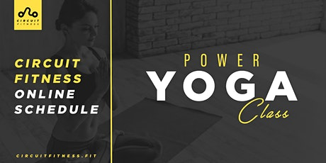 FREE Power Yoga Class Online: Meditate and Start Your Morning the Right Way tickets