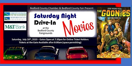 Drive-In Movie: July 18th - The Goonies tickets