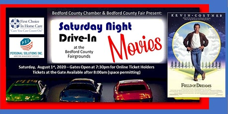 Drive-In Movie: August  1st - Field of Dreams tickets