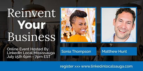 LinkedIn Local Mississauga - Reinvent Your Business tickets