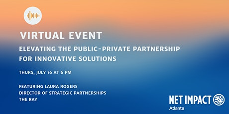 Elevating the Public-Private Partnership for Innovative Solutions tickets