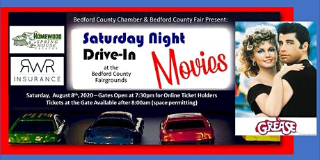 Drive-In Movie: August 8th - Grease tickets