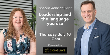 Leadership And The Language You Use tickets
