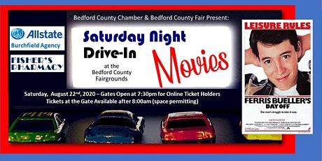 Drive-In Movie: August 22nd - Ferris Bueller's Day Off tickets