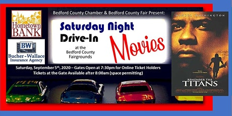 Drive-In Movie: September 5th - Remember the Titans tickets