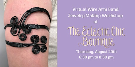 Wire Arm Band Jewelry Making Workshop tickets