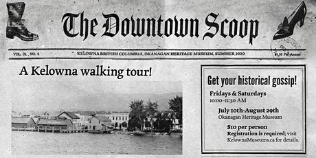 The Downtown Scoop: A Walking Tour tickets